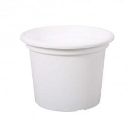 Květináč GEO plast 35cm bílá