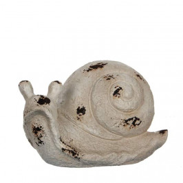 Šnek hliněný 21,5cm béžový