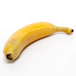 Banán umělý 18cm žlutý