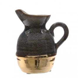 Váza - džbán keramický glazovaný 15cm