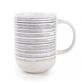 Hrnek RAWW dekor pruhy 4ks porcelán S&P