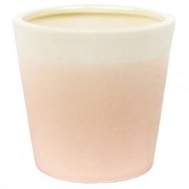 Svícen na votiv YANKEE CANDLE Pastel Hues Pink keramika