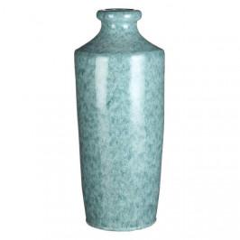 Váza hliněná 49,5cm tyrkysová