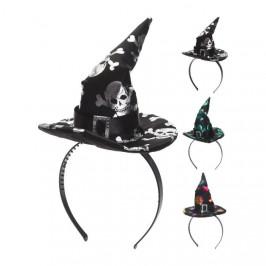 Čelenka čarodějnický klobouk mix