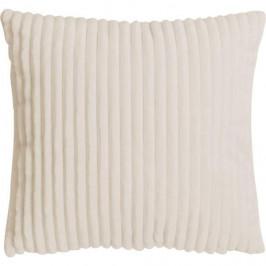 Polštář ALANYA polyester písková s proužkem 45x45cm
