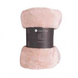 Deka MARMARIS plyš růžová melange 130x170cm