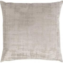 Polštář VINTAGE VELVET polyester béžová/písková 50cm