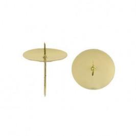 Svícen/bodec zlatý s hrotem 5cm