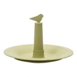 Pítko pro ptáky a hmyz FINCH plast olivová 32cm