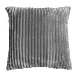 Polštář ALANYA polyester pruhy šedá 45cm