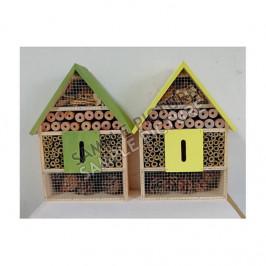 Dům/hotel pro hmyz dřevo mix 30cm