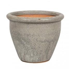 Obal BARCA 21E keramika glazovaný šedý 33,5cm
