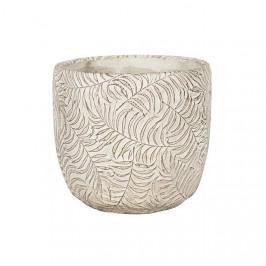 Obal kulatý ROTTERDAM 2-01I keramika krémová 10,5cm