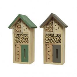 Dům/hotel pro hmyz dřevo mix 26cm