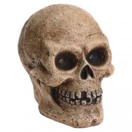 Lebka svíticí polyresinová 35cm
