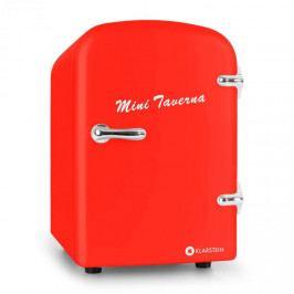Klarstein ICE2-MINI-TAVERNA-R, červená, chladnička, 4 l