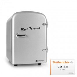 Klarstein ICE2-Mini-Taverna-S, chladnička, stříbrná