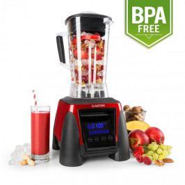 Klarstein Herakles-8G-R, 1800 W, 2 litry, stolní mixér, červený, smoothie, bez BPA