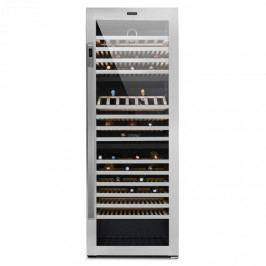 Klarstein Botella Trium, 3zónová chladnička na víno, 617 l, třída B, UV sklo, ušlechtilá ocel