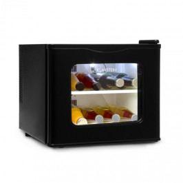 Klarstein Winehouse, minibar, 17 l, 60W, třída A ++, 38dB, skleněná dvířka, černý