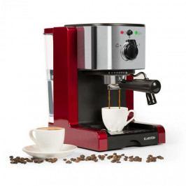 Klarstein Passionata Rossa 15, espresso kávovar, 15 barů, cappuccino, mléčná pěna, červený