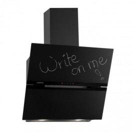 Klarstein Sancta Clara 60, odsavač par, 60 cm, 620 m³/h, tabule, sklo, černý
