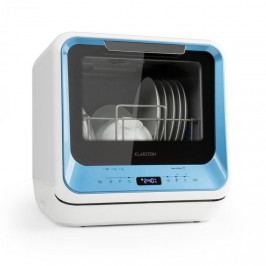 Klarstein Amazonia Mini, myčka nádobí, 6 programů, LED displej, modrá