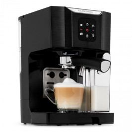 Klarstein BellaVita, kávovar, 1450 W, 20 barů, pěnič mléka, 3 in 1, černý