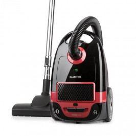 Klarstein Mister Eco, vysavač, 450 W, HEPA13, třída energetické účinnosti A++, černo/červený