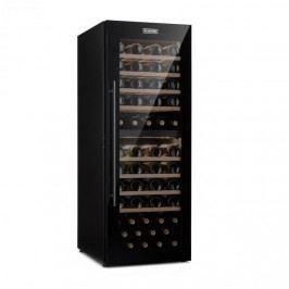 Klarstein Barossa 77 Duo, vinotéka, 2 zóny, 191 l, 77 lahví, dotyková, LED, černá