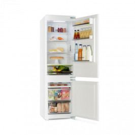 Klarstein CoolZone, vestavěná chladnička s mrazničkou, 241 l, A+, 41 dB, bílá
