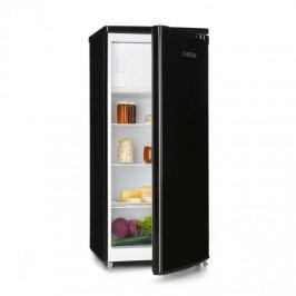 Klarstein Samara L, chladnička, 181 l, chladící přihrádka na zeleninu, A+, černá