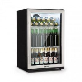 Klarstein Beersafe Pro, chladnička, 133 l, skleněné dveře, 2 poličky, černá