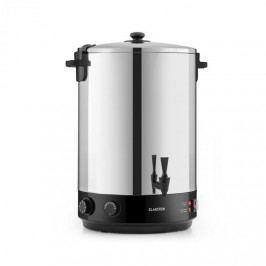 Klarstein KonfiStar 40, zavařovací automat, 40 l, zásobník na nápoje, 110 °C, 120 min, ušlechtilá ocel