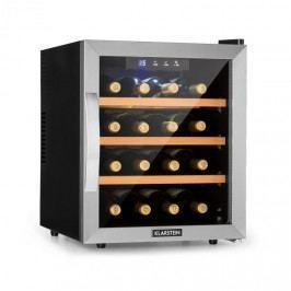 Klarstein Reserva 16, vinotéka, 16 fl / 48 l, dotykový LED-displej, černá