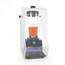 Klarstein Herakles 3G, modrý, stolní mixér s krytem, 1500 W, 2,0 k, 2 litry, bez BPA