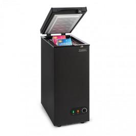 Klarstein Iceblokk 50, mrazicí box, volně stojící, 50litrový koš, uzamykatelný, energetická třída A +, černý