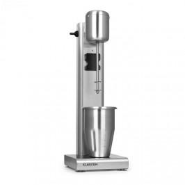 Klarstein Kraftpaket Pro, mixér na mléčné koktejly, proteinové koktejly, 80 W, ušlechtilá ocel, stříbrný