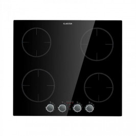 Klarstein Kochheld, 4 zónová indukční varná deska, 6000 W, otočné regulátory, černá