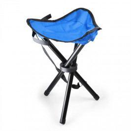 DURAMAXX Přenosná kempovací židle, rybářská stolička, modro-černá, 50
