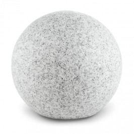 Lightcraft Shinestone L, zahradní svítidlo, kulovité, 40 cm, vzhled kamene