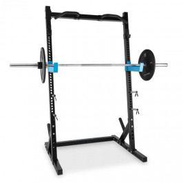 Capital Sports Racktor, černý, stojan na činky Half Rack, ocel