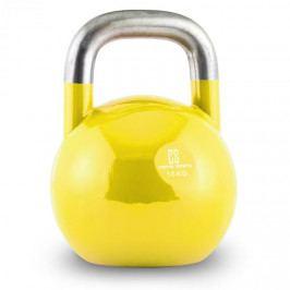 Capital Sports Compket 16, žlutá činka kettlebell, 16 kg, kulové závaží