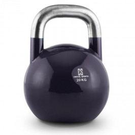 Capital Sports Compket 20, tmavomodrá činka kettlebell, 20 kg, kulové závaží