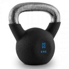 Capital Sports V-ket 8, činka kettlebell 8 kg, kulové závaží
