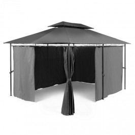Blumfeldt Grandezza, zahradní pavilon, párty stan, 3 x 4 m, ocel, polyester, tmavě šedý