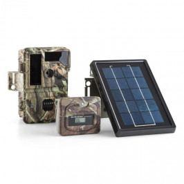 DURAMAXX Solar Grizzly, lovecký fotoaparát, sada, černé LED diody, HD, MP, solární panel