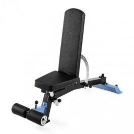 Capital Sports Compactar Plus, lavice pro trénink s činkami a leh-sedy, kov, přizpůsobitelná