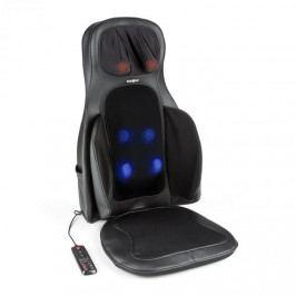 KLARFIT Vanuato, černá, masážní podložka na sezení, shiatsu masáž, 3D masáž