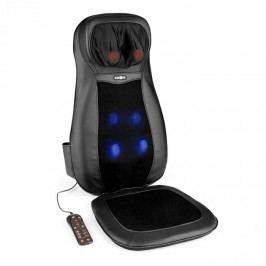 KLARFIT Nukuoro, černá, masážní podložka na sezení, shiatsu masáž, 3 masážní zóny